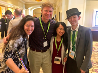 Xian Horn, Derek Shields, Ann Wei-Yee Kwong and Danny Vang at Disability:IN Conference